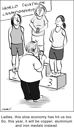 triathlon 171 cartoons about everything humans animals