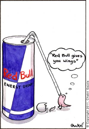 Red Bull Drawing http://chakrigajula.com/?tag=red-bull